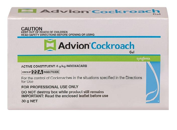 advion cockroach gel bait instructions