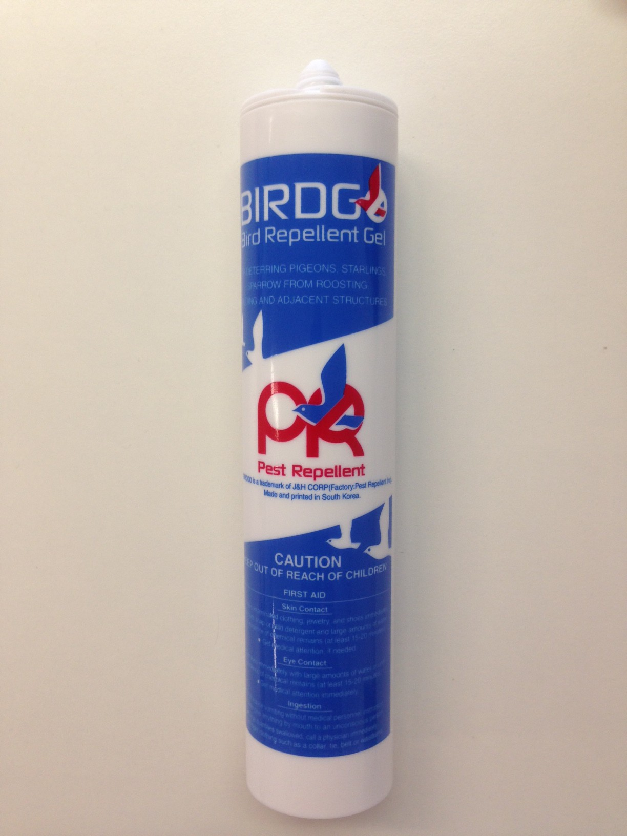 Bird repellent gel