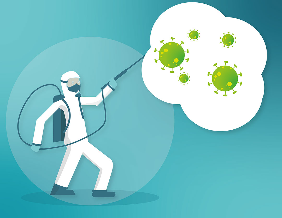 Pest control for business - Disinfection