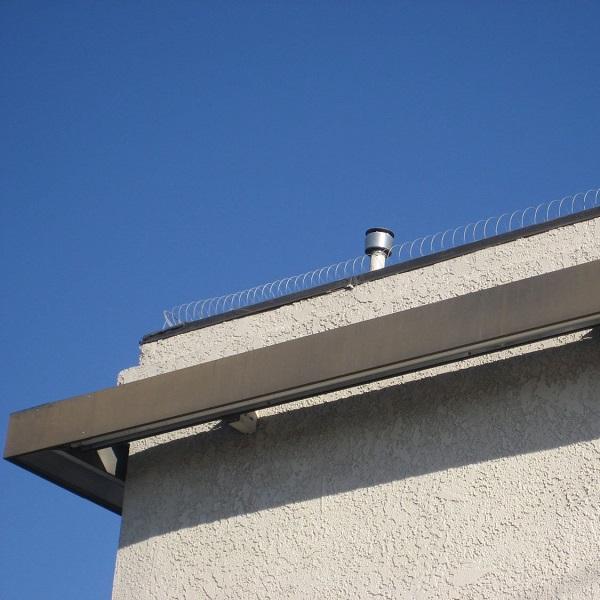 Anti-Bird Repellent Coil On Roof