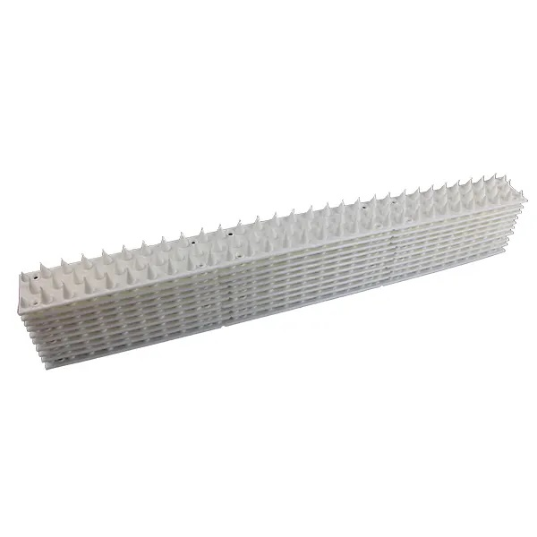 Anti-Cat & Possum Fence Spikes - White 5 Metres Pack-Pile
