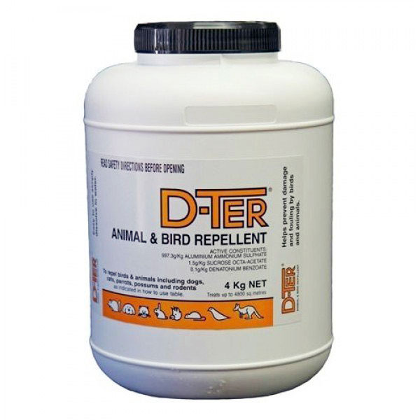 D-ter animal and bird repellent 4kg