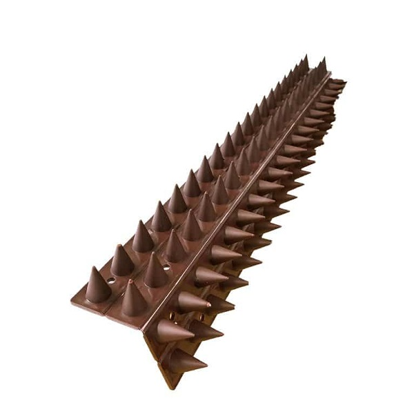 Large Fence and Wall Spikes Sideways