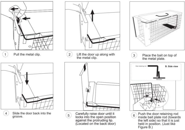 Commercial Rodent Trap Manual