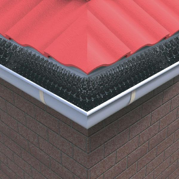 Gutter guard Premium on Roof